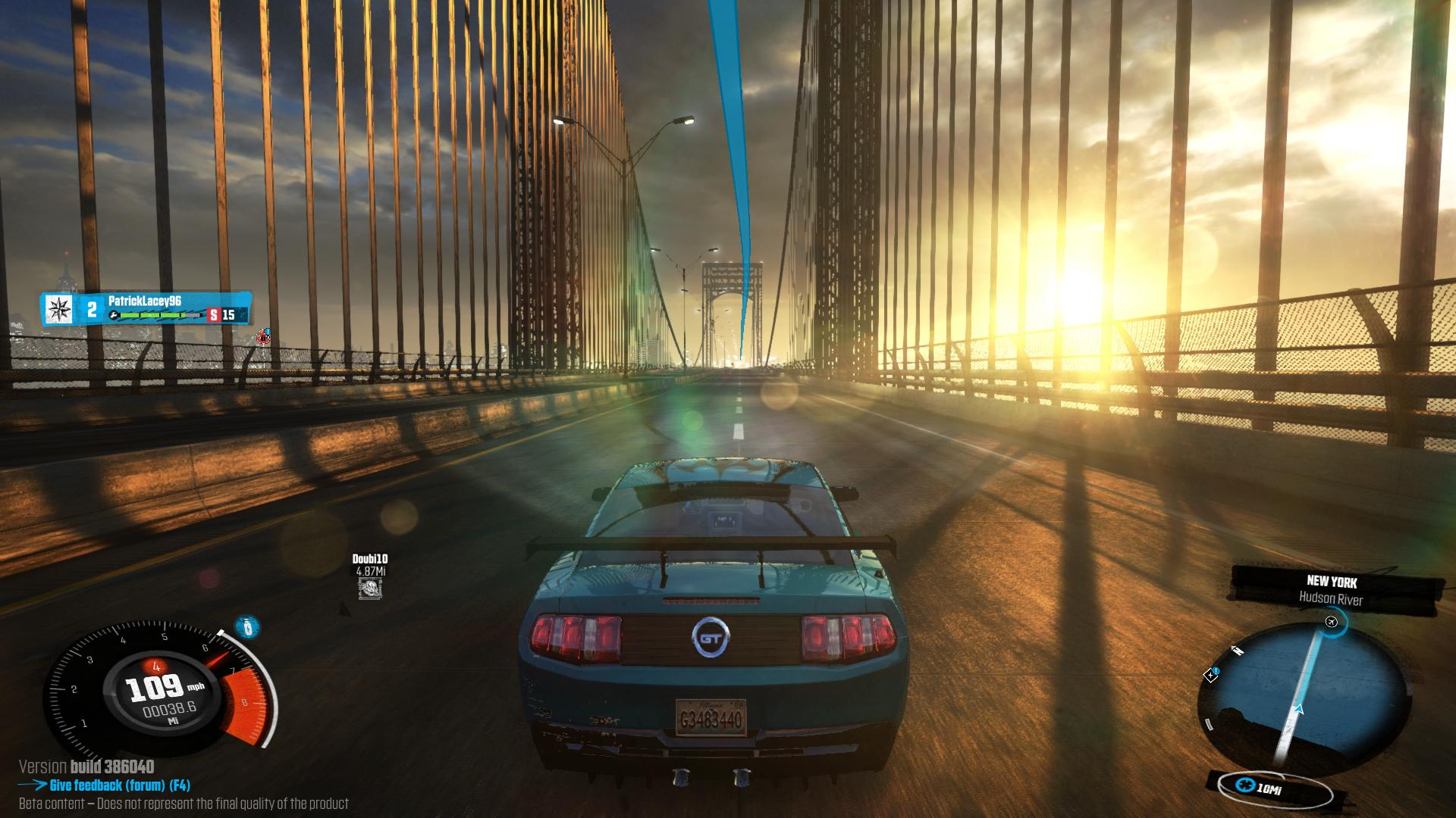fall out racing game